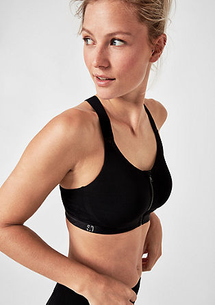 High impact: X-Back mesh sports bra from s.Oliver
