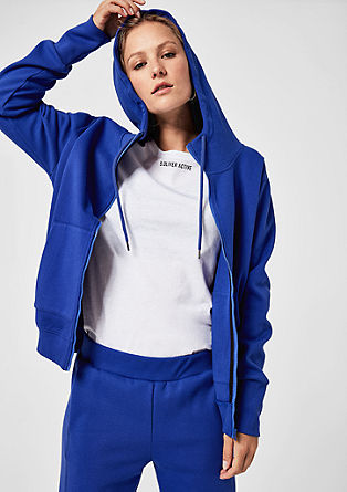 Veste à capuche zippée classique de s.Oliver