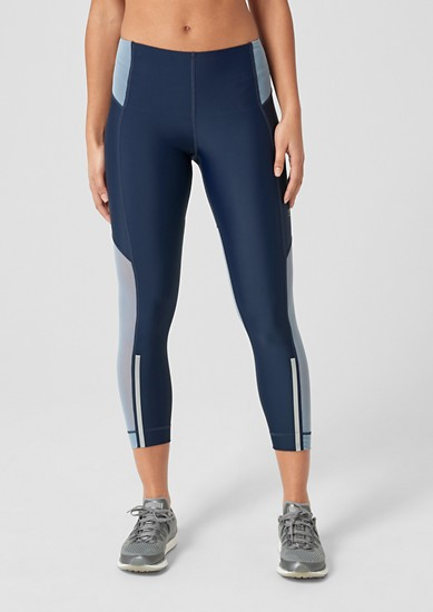 Long Energy Tight mit Mesh-Details