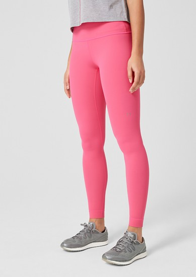 Sports tights with a wide waistband from s.Oliver
