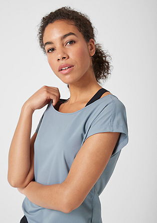 Lightweight mesh T-shirt from s.Oliver