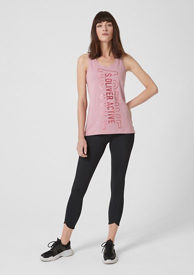 Lightweight jersey tank top from s.Oliver