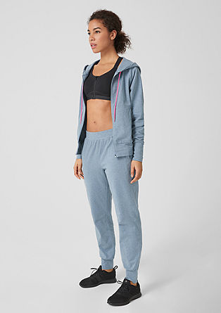 Gemêleerde Light jogger pants