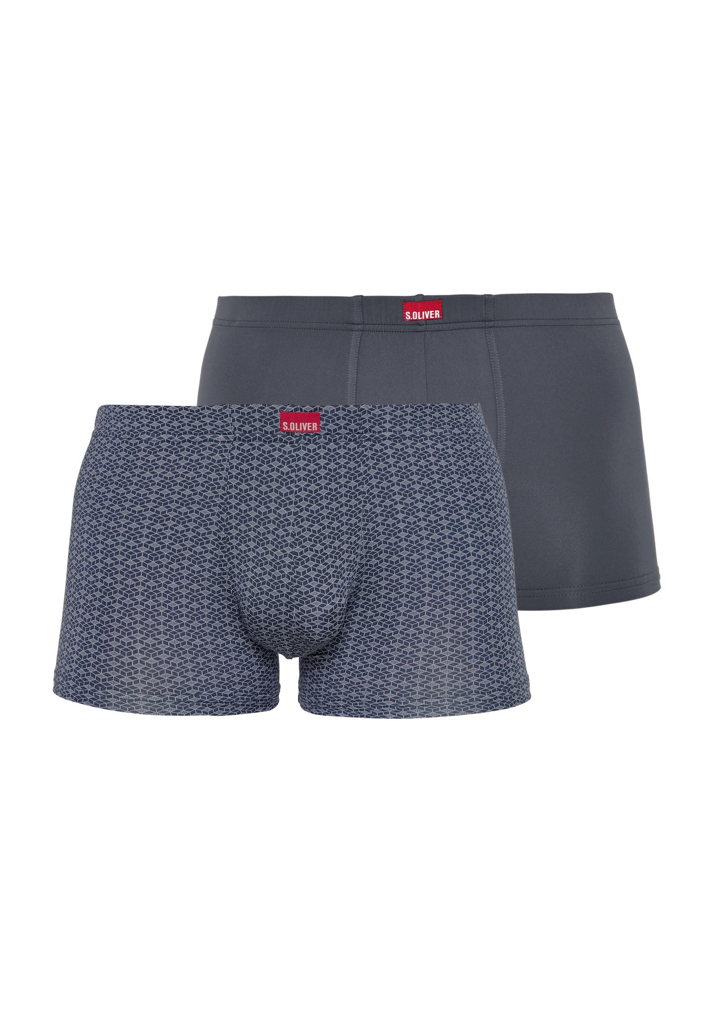 Boxershorts | Bekleidung > Wäsche > Boxershorts | Blau | 45% polyamid -  45% polyester -  10% elasthan | s.Oliver
