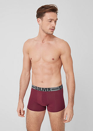 Double pack of jersey boxer shorts from s.Oliver