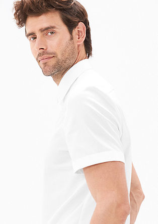 Modern Fit: short sleeve poplin shirt from s.Oliver