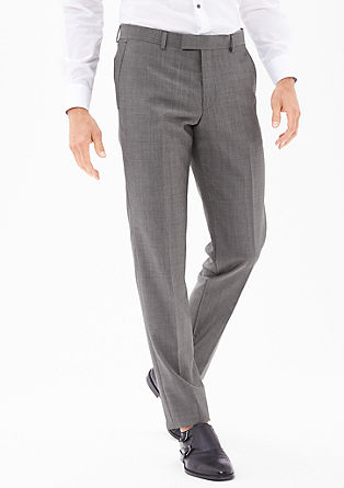 Cosimo Slim: New wool business trousers from s.Oliver