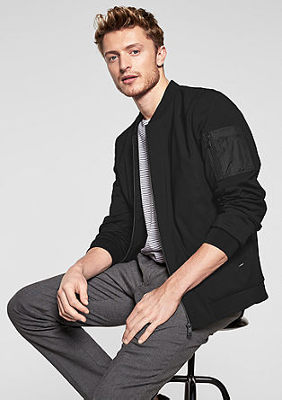 Elegant bomber jacket from s.Oliver