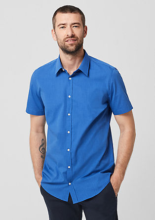 Slim: Short sleeve business shirt  from s.Oliver
