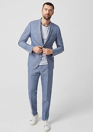 Slim: sako s tkaným vzorem