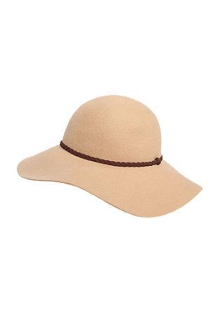 Chapeau en feutre à ruban tressé de s.Oliver