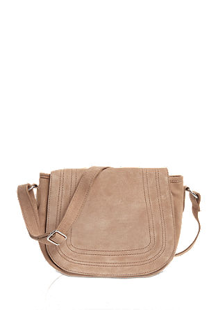Shoulder Bag aus Veloursleder