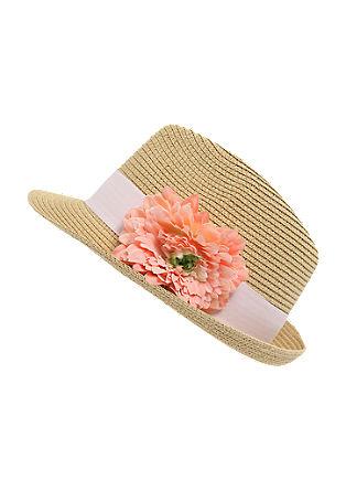Sommerhut mit Blume