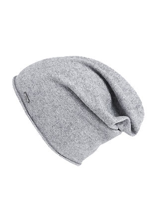 Beanie in cashmere, silk and wool from s.Oliver