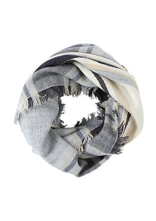 Woven XXL snood from s.Oliver