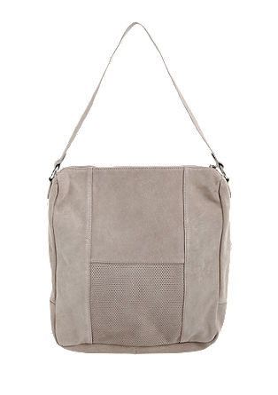 Suede hobo bag from s.Oliver