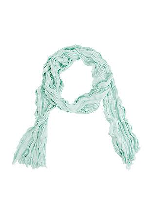 Crinkled sjaal van viscose