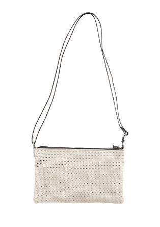 Clutch with a perforated pattern from s.Oliver