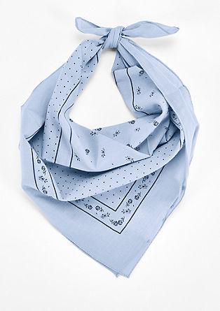 Tuch mit Wiesn-Print