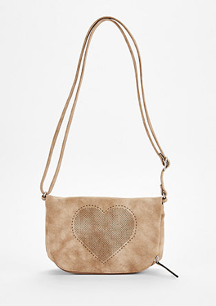 Double bag with openwork detail from s.Oliver