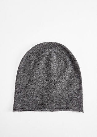 Hat made of wool and cashmere from s.Oliver