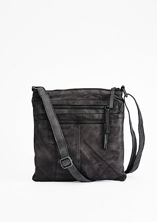 Leather city bag from s.Oliver