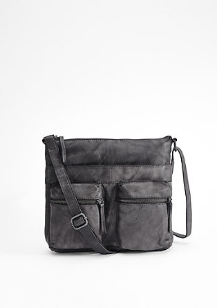 Leather shoulder bag from s.Oliver