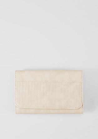 Purse with perforation from s.Oliver