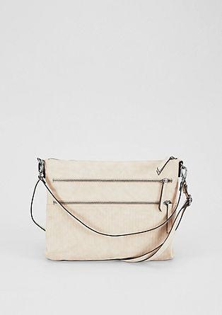 Hobo Bag mit Reißverschlüssen