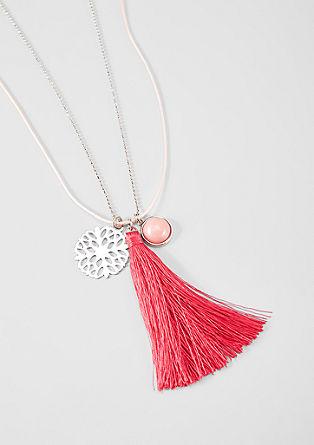 Romantický vrstvený náhrdelník