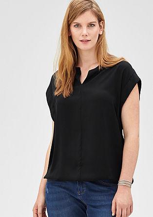 Shirtbluse in O-Shape