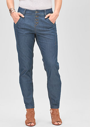 Fancy Fit: jeans with a button placket from s.Oliver