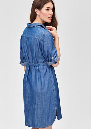 Leichtes Denim-Kleid aus Lyocell