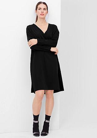 Kleid aus changierendem Satin