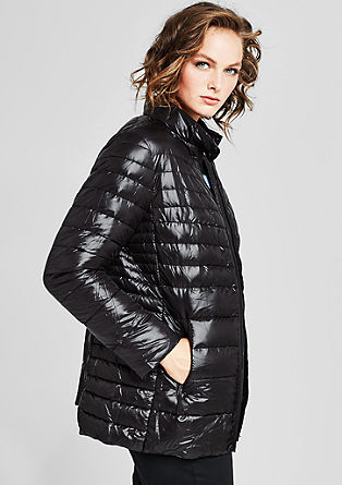 Shiny, light down jacket from s.Oliver