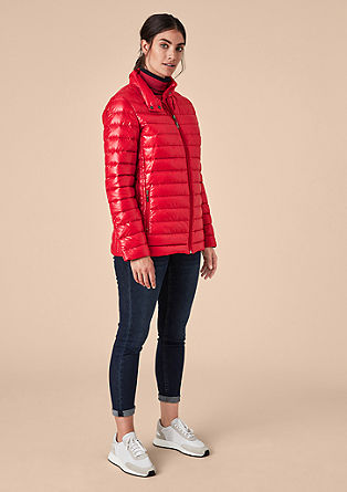 Sporty light down jacket from s.Oliver