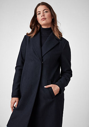 Classic wool blend coat from s.Oliver