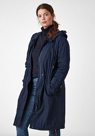 Padded parka from s.Oliver