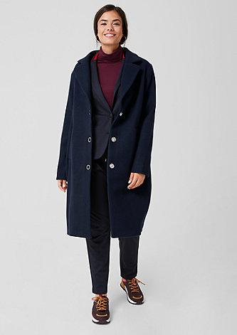 Eleganter Mantel mit Ringknöpfen