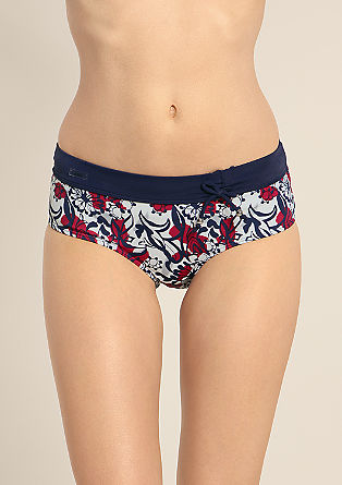 Bikini bottoms with bow at the waistband from s.Oliver