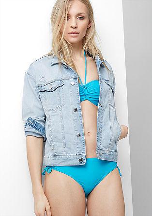 Bikini-Slip mit Schleifchen