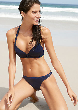 Bikini bottoms with loop details from s.Oliver