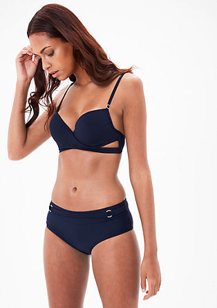 Bikini bottoms with a wide waistband from s.Oliver