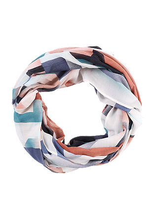 Snood with a printed pattern from s.Oliver