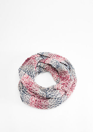 Mottled chunky knit snood from s.Oliver