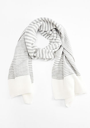 Striped XXL scarf from s.Oliver