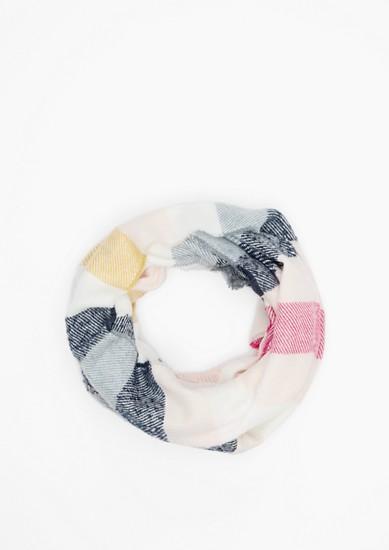 Écharpe tube à carreaux de s.Oliver