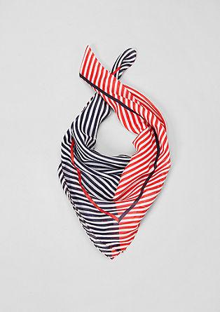 Fijn vierkant sjaaltje met stippen