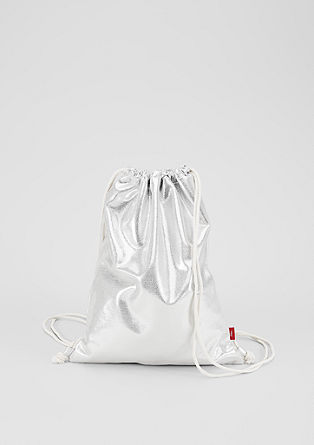 Gym bag in a metallic look from s.Oliver