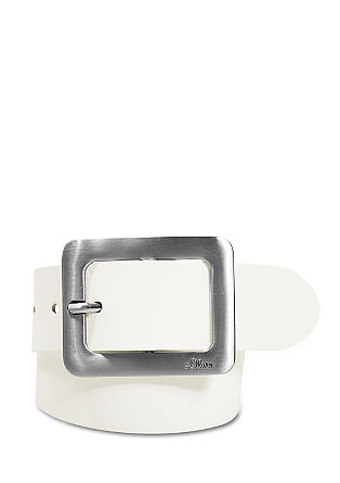 Belt with an elegant buckle from s.Oliver